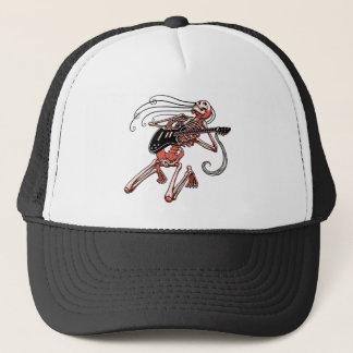 Skeleton Guitarist 0515 Trucker Hat