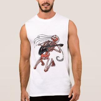 Skeleton Guitarist 0515 Sleeveless Shirts