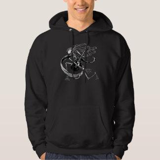 Skeleton Guitarist -crouch Sweatshirts