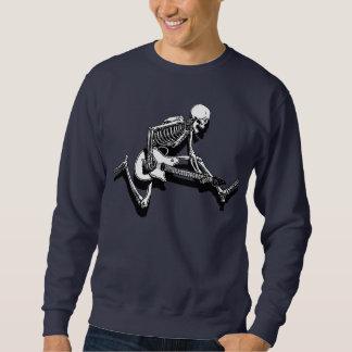 Skeleton Guitarist Jump Sweatshirt