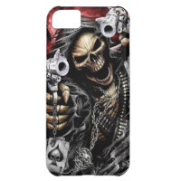Skeleton & Guns iPhone 5C Cover