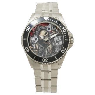 Skeleton & Guns Watch