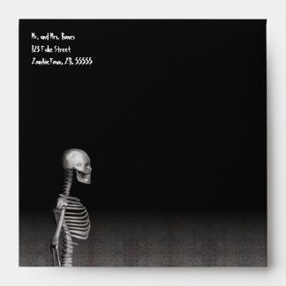 Skeleton - Halloween Envelope