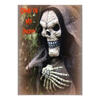 Skeleton Halloween Invitation