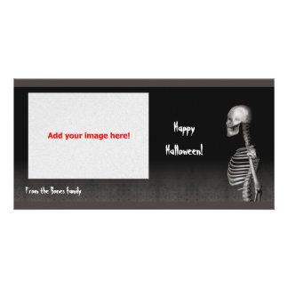 Skeleton - Halloween Photo Card