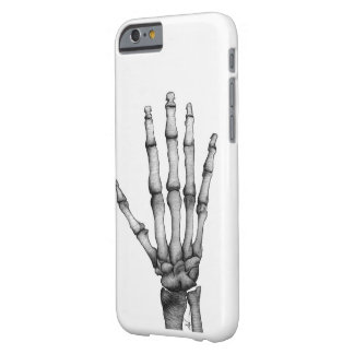 Skeleton hand drawing iPhone 6 case