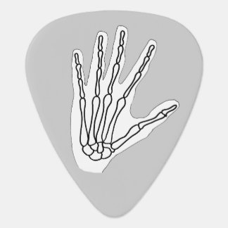 Skeleton hand guitar picks pick