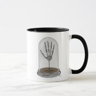 Skeleton Hand In Bell Jar 2 Mug