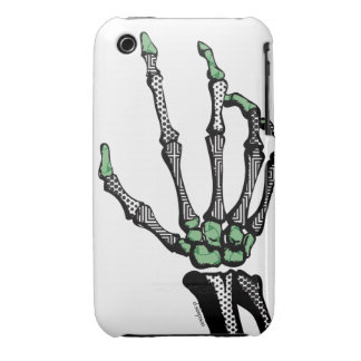 SKELETON HAND OF FATE IPHONE 3 SKIN iPhone 3 CASE