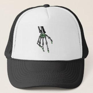 SKELETON HAND OF FATE TRUCKER HAT