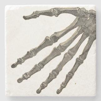 Skeleton Hand Stone Coaster