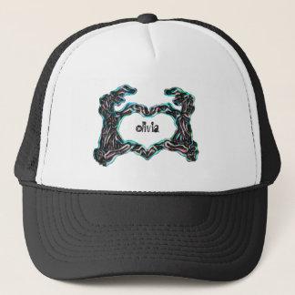 Skeleton Hands (Neon) Trucker Hat