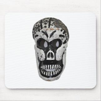 Skeleton Head Mouse Pad