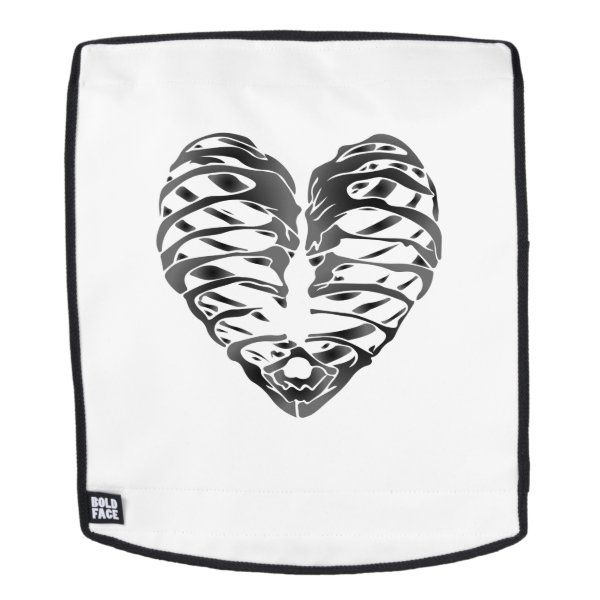 Skeleton Heart Halloween Funny Gifts Backpack