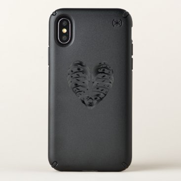 Halloween Themed Skeleton Heart Halloween Funny Gifts Speck iPhone X Case
