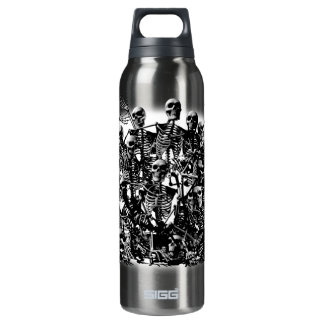 Skeleton Horde 16 Oz Insulated SIGG Thermos Water Bottle
