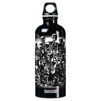 Skeleton Horde Aluminum Water Bottle