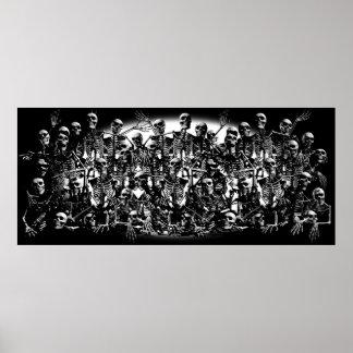 Skeleton Horde Posters