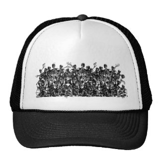 Skeleton Horde Truckers Cap Trucker Hat