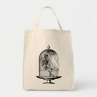 Skeleton in a Birdcage Bags