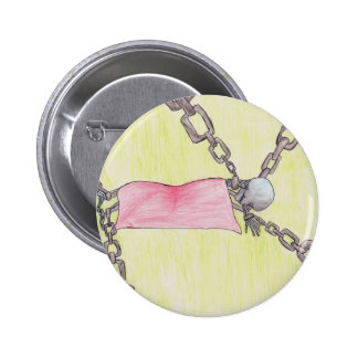 skeleton in chains button