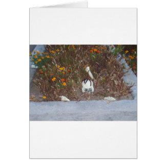 Skeleton in Marigolds Greeting Cards