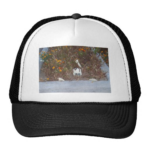 Skeleton in Marigolds Trucker Hat