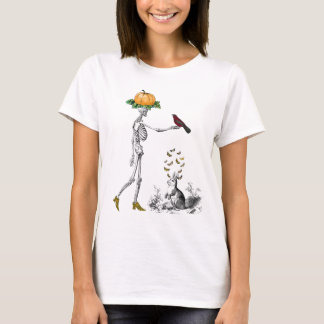 skeleton in shoes T-Shirt