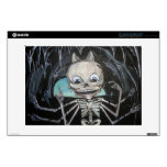 """Skeleton in the caves 13"""" laptop decal"""