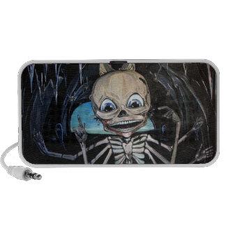 Skeleton in the Caves Horizontal iPhone Speaker