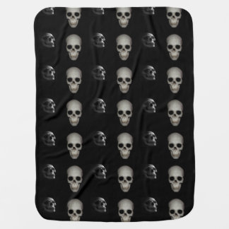 Skeleton In The Closet Baby Blanket
