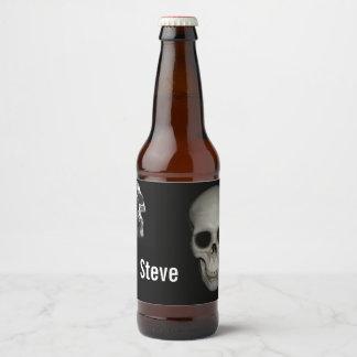 Skeleton In the Closet Beer Bottle Label