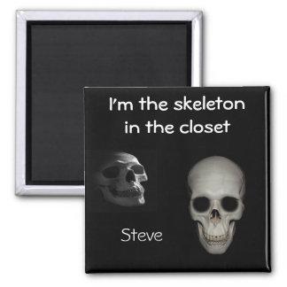 Skeleton In the Closet Magnet