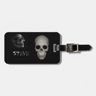 Skeleton in the Closet Personalized Luggage Tag