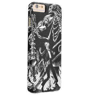 Skeleton Jam Band Barely There iPhone 6 Plus Case