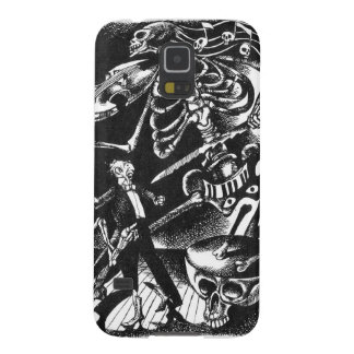 Skeleton Jam Band Samsung galaxy case