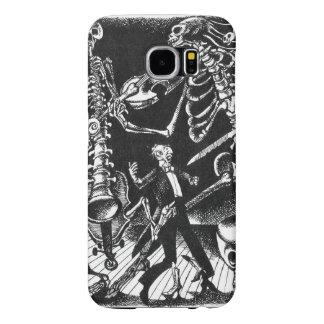 Skeleton Jam Band Samsung Galaxy S6 Case