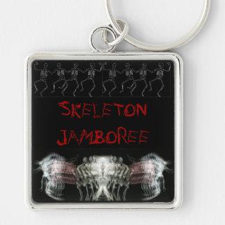 Skeleton Jamboree Keychain
