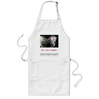Skeleton Jamboree Long Apron