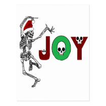 Skeleton Joy Postcard