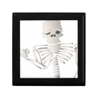 Skeleton Keepsake Box