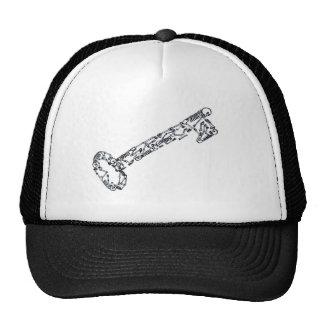 Skeleton Key Trucker Hats