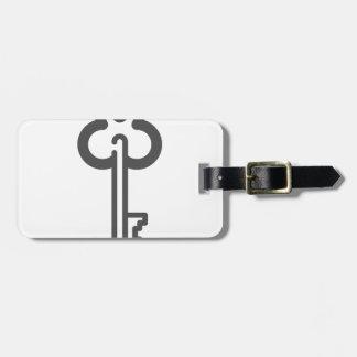 Skeleton Key Luggage Tag