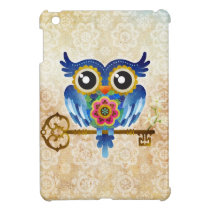 Skeleton Key Owl iPad Mini Case