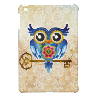 Skeleton Key Owl iPad Mini Case