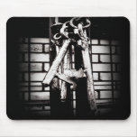 Skeleton Keys and Brick Wall Mouse Pad