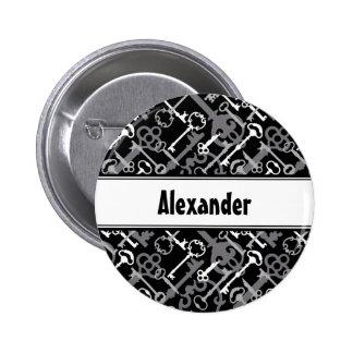Skeleton Keys Pin