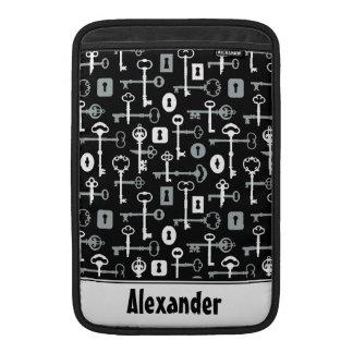 Skeleton Keys Pattern Sleeve For MacBook Air