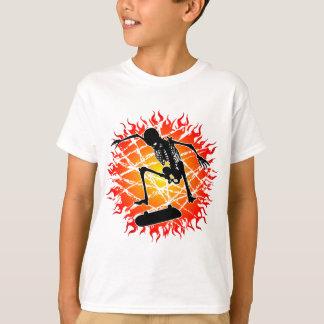 skeleton kickflip T-Shirt