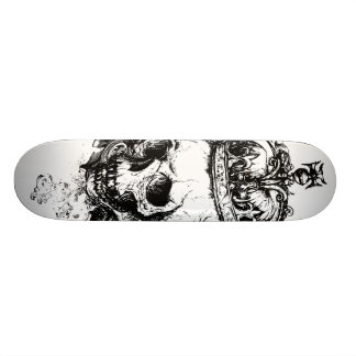 Skeleton King Custom Skateboard